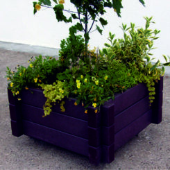 Kunststof Bloembakken Plantenbakken Bloempotten