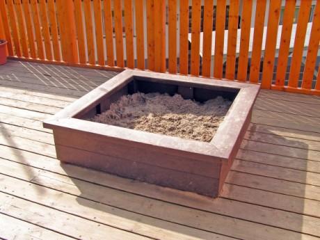 Kunststof zandbakken