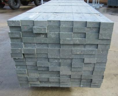 Kunststof balk 45 x 105 x 2800 mm