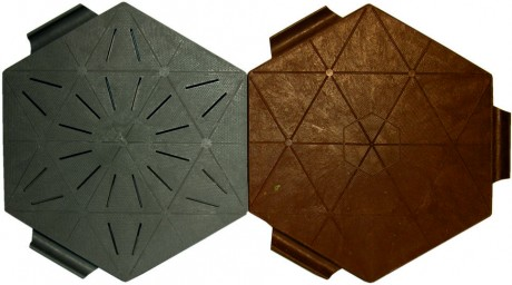 Eco mozaiektegel 2