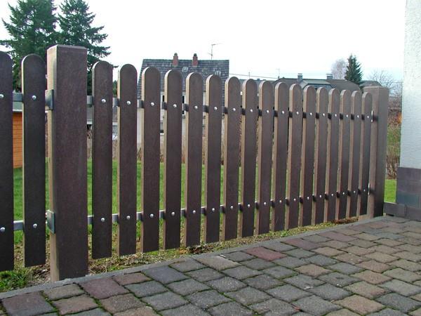 Kunststof hekken