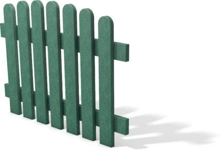 Kunststof hekelement groen getoogd 120 cm breed x 85 cm hoog geheel kunststof 2020