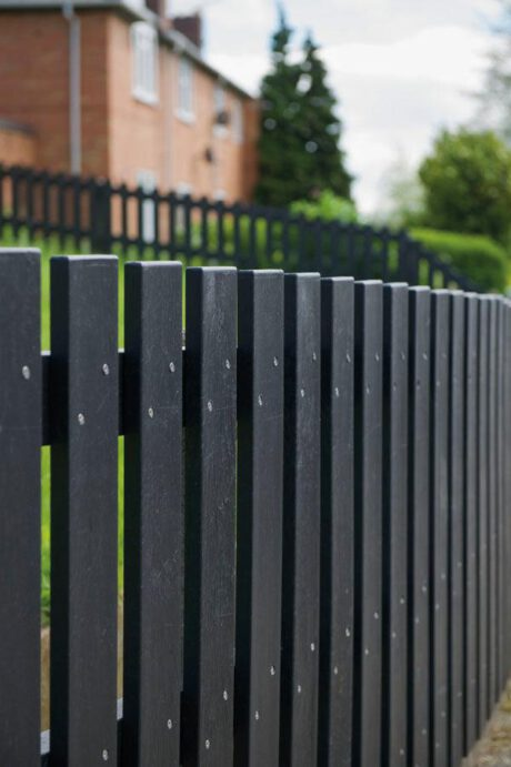 Scherm planken zwart 2,5 x 10 cm, in zwart of bruin 2020