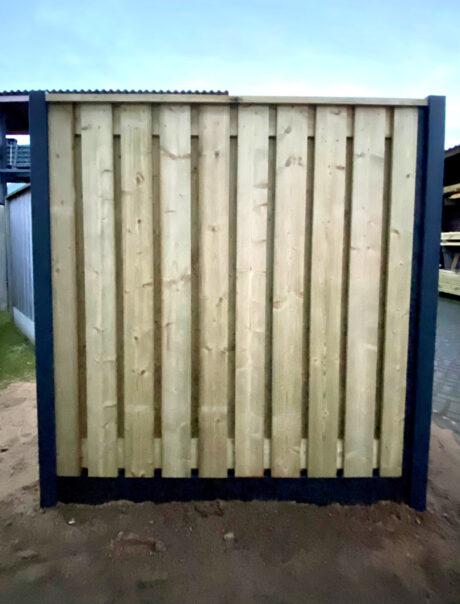 Voorzijde aluminium kunststof hout combinatie 2021